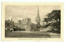 Chichester Cathedral from Bishop's Garden 1947 Volunteer for a Forces Career PMK