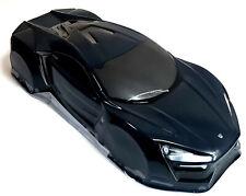 JLR47 1/10 escala deriva sobre carretera Touring Car Body Cubierta Armazón RC Negro