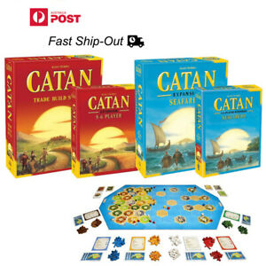 NEW Settlers of Catan MAIN Board Game  + expantion