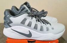 Nike Men's Hyperdunk 2016 Low Basketball Shoes Grey 844363-011 Size 11