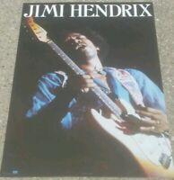 Vintage JIMI HENDRIX WINTERLAND POSTER #8037 Jim Marshall  NOS STILL IN PLASTIC