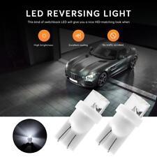 10PCS Canbus T10 LED License Plate Light Bulbs Wedge Bright White 168 2825 194