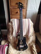 Hofner Shorty travel guitar Super-customized  and Art Work(STEAM PUNK).(NEW)