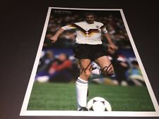 Rudi Völler SIGNED PHOTO 20x29 in-persona DFB Weltmeister 1990