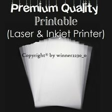 Premium Quality 50 Sheet of A4 Vellum Translucent Tracing Paper 115gsm Printable