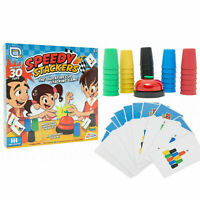 Speedy Stackers Stacking Cup Game Family Speed Challenge Party Fun Toy R05-0296