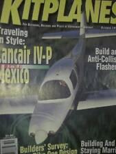 Kitplanes Magazine October 1997-Lancair IV-P In Mexico Part 1/Anti-Collision Fla