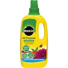 MIRACLE GRO ALL PURPOSE PLANT FOOD LAWN GRASS COMPOST SEED FULL RANGE