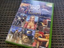 BIG Mutha Truckers (Original Xbox Video Game) Complete Black Label