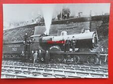 POSTCARD SR ex  SECR L class LOCO NO 763 BETTY BALDWIN