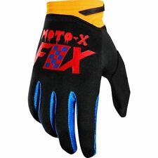 Taglia S Coppia Guanti Fox Dirtpaw Gloves Czar Black Yellow Cross Enduro DH Quad
