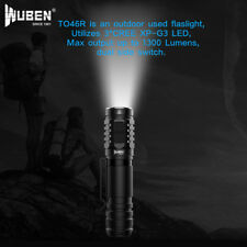 Flashlight WUBEN TO46 1000 Lumens 3 CREE Lens, USB Rechargeable, Waterproof