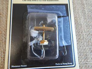 Vintage Dollhouse Miniature Desk Light New 1:12 Scale #68