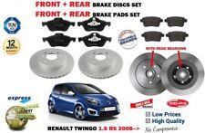 pour Renault Twingo 1.6 RS 2008- > avant + Disque de frein arrière+Kit