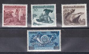 Liechtenstein Jahrgang 1950 Postfrisch ** 285 - 288