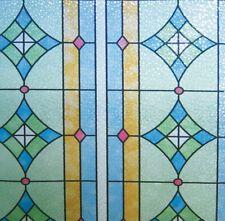 Linea fix Dekorfolie statische Fensterfolie Ge-4603 Buntglasdekor 92 X 150 Cm