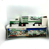 "1991 HESS TOY TRUCK and RACER ""Lamborghini Style"" w/ friction Motor & Lights"