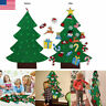 DIY Felt Christmas Tree New Year Gift Children Toy Wall-Mounted Home Ornaments