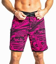 Virus Airflex Ii Board Short- Hot Pink,Crossfit,Mma,Bjj,Gym ,Running,Lifting