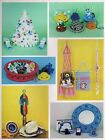 Hat Band, Swing Hanger Pin Cushion Patterns Macrame Gifts  Goodies Book PD1122