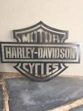 HARLEY DAVIDSON LOGO Man Cave Sign 53CM