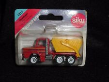 "Siku Super Serie 1013 Skip Truck German Toy 3"" Corner of Card Small Damage"