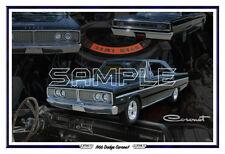1966 Dodge Coronet Poster Print