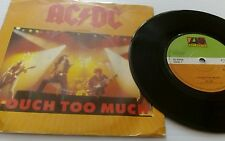 AC/DC - Touch Too Much - Live Wire - K 11435 1979 RARE EX EX