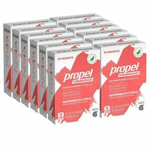 50 Propel Vitamin Boost Powder Packets Watermelon Citrus Flavor - 120 Servings