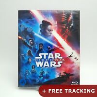 Star Wars: The Rise of Skywalker .Blu-ray w/ Slipcover Character Cards