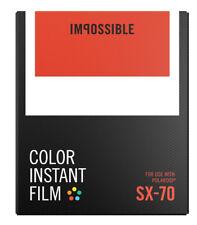 Impossible Instant Color Sofortbildfilm SX70 für Polaroid 4512