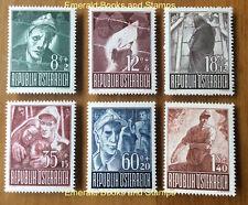 EBS Austria Österreich 1947 Prisoners of War - Kriegsgefangene ANK 838-843 MNH**