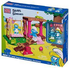 MEGA BLOKS The Smurfs Playground 10746