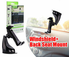 Universal Windshield+Back Seat Mount Car Holder Cell Phone iPhone Samsung
