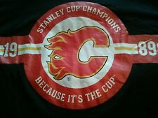 Authentic Calgary Flames  Because its the Cup T-shirt  NHL