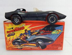 Vintage Mattel 1975 Big Jim Lazer Vette Corvette Toy Vehicle w Box RARE