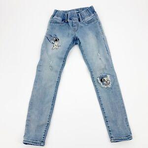 GAP Kids Disney 101 Dalmatians Distressed Skinny Jeans Size 7
