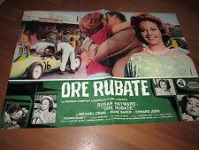 AUTO CAR FOTOBUSTA ORE RUBATE S. HAYWARD BAKER RACING RACE