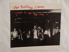 "The Rolling Stones ""Time Is On My Side"" PICTURE SLEEVE! NEW! ONLY NEW COPY eBAY!"