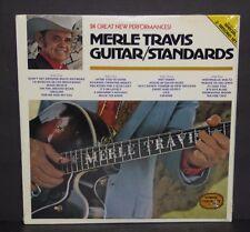 Merle Travis Guitar Standards SEALED NEW vinyl 2 LP record set cut out