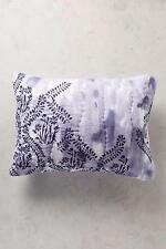 NEW Anthropologie Pillow Shams King Set of 2 Maddalena Blue Purple Houthouse NWT