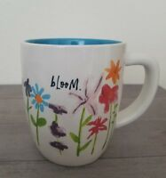 BRAND NEW RAE DUNN By Magenta BLOOM Flowers Mug Summer Home Dining Decor