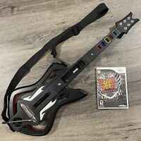 Nintendo Wii Warriors Of Rock Guitar Hero Controller & Game Bundle Tested