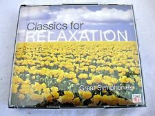 Classics For Relaxation, Great Symphonies ~ Time Life (4 Set) - CD - Like New