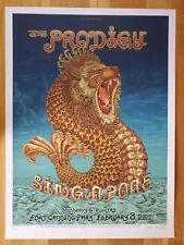 2009 EMEK The Prodigy Singapore Merlion Poster Signed/Numbered 11 Colors 114/200