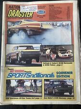 Vintage May 31 1985 NHRA National Dragster Magazine Sports Nationals  Souvenir