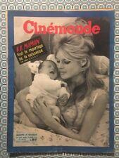 CINEMONDE n 1328 Janv 1960 Brigitte BARDOT naissance de Nicolas