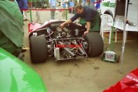 PHOTO  THE FORD F3L PROTOTYPE OF DAVID PIPER WAS DRIVEN BY ANDREW FLETCHER AT TH