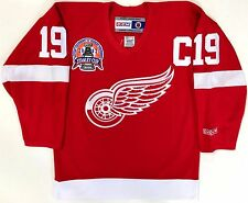 STEVE YZERMAN 2002 STANLEY CUP DETROIT RED WINGS ORIGINAL CCM REPLICA JERSEY S