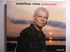 Matthias Reim  Jedesmal Verdammt ich lieb Dich Ich liebe Dich Promo Maxi-CD rar!